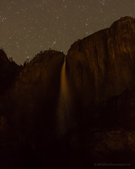 Upper Yosemite Falls During Total Eclipse (Jeff Sullivan (www.JeffSullivanPhotography.com)) Tags: total lunar eclipse yosemite national park mariposa county california united states usa astrophotography landscape nature travel photography canon 5dmarkiii photo copyright jeff sullivan