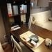 イケアのデスク兼ダイニングテーブルの写真