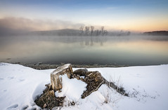 _DSC1474 (silviu_z) Tags: cold natural naturaleza naturephotography water river danube sony ilce7rm3 snow frog frost morning outdoor waterscape landscape sky clouds reflection