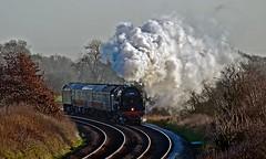 crew training (midcheshireman) Tags: steam train locomotive 70000 britannia cheshire mainline