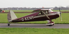 Luscombe 8E Silvaire Deluxe G-KENM Lee on Solent Airfield 2019 (SupaSmokey) Tags: luscombe 8e silvaire deluxe gkenm lee solent airfield 2019