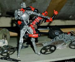 Deadpool vs T-800 (BenoitGEETS-Photography) Tags: a6000 sony deadpool t800 jouet toys marvel comics