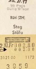 "Bahnfahrausweis Schweiz • <a style=""font-size:0.8em;"" href=""http://www.flickr.com/photos/79906204@N00/46080507172/"" target=""_blank"">View on Flickr</a>"