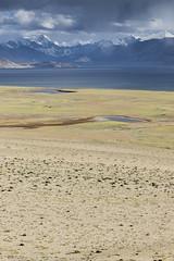 Tsomoriri #7 (jean matthieu) Tags: blue canon clood cloods color eos himalaya india indiantibet ladakh lake landscape light montain montains sky tsomoriri