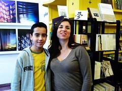 Soulaimane Berrada à la Librairie les insolites - Tanger 2015 (MAP Maghreb Arabe Presse) Tags: soulaimane berrada librairielesinsolites tanger stéphanie gaou soulaimaneberrada thamibenkirane cette