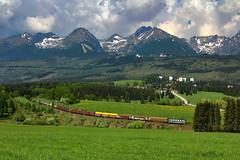 183-001 (Andrzej Szafoni) Tags: 183 183001 škoda slovakia słowacja train railroad electric locomotive zssk 61e1