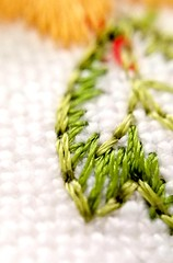 Green Cloth (fernanmz74) Tags: macromondays macro green textile texture bokeh cloth tela hmm 7dwf samsung samsungs7 macrophotography