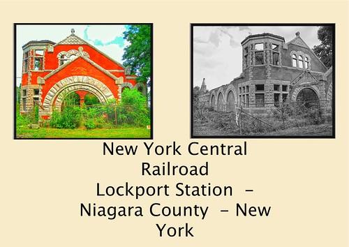 Lockport  New York - The New York Central Railroad Lockport - Abandon