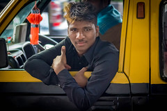Random (Robert Borden) Tags: street cab taxi marinedrive mumbai bombay india asia canon canonrebel canonphotography portrait portraitphotography travel world globe
