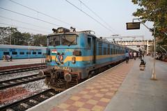 Sabarimala Special Fare Special (daveymills37886) Tags: indian railways wag7 27763 lingampalli sabarimala special fare