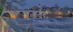 Alte Lahnbrücke mit Dom Wetzlar HDR (Bianchista) Tags: 2018 bianchista bridge dezember fluss herbst lahn river wetzlar altelahnbrücke brücke