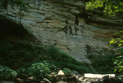 Clifty Falls State Park, Indiana (Roger Gerbig) Tags: cliftyfallsstatepark madison indiana canoneos3 canonef28105mmf3545 kodake100g slidefilm transparencyfilm rogergerbig 35mm 135film