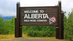 Welcome to Alberta Sign, Waterton Lakes National Park, Hwy 6, Alberta, Canada (Black Diamond Images) Tags: welcometoalberta sign hwy6 alberta canada westernusatrip2018 2018 sigma1770 1770 canond60 welcome mountains watertonlakesnationalpark waterton travelalberta albertatravel albertaholiday holidayalberta