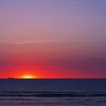 Port Colborne Ontario ~ Canada ~ View of Lake Erie at Sunset ~ thumbnail