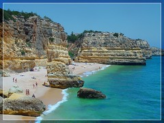 ¤ Algarve - European Beach of the Year - Praia da Marinha (b.e.r.n.d.) Tags: 2009 beach algarve portugal praia contest favoritsbernd 20000views panoramio321461029027808