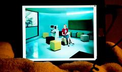 ipad / digital news (bluebird87) Tags: news colors photo film nikon f5 dx0 c41 epson v800 kodak ektar ipad woman art