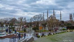 Sultan ahmet camii/ Blue mosque Istanbul (Bilel Tayar) Tags: istanbul bluemosque history sultanahmet turkiye turkey turquie islam mosque mosqué cami civilization civilisation osmanli ottoman sultan