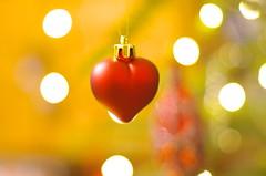 The heart (Baubec Izzet) Tags: baubecizzet pentax bokeh lights christmas heart