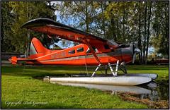 N1018D N1018D LLC (Bob Garrard) Tags: de havilland canada dhc2 beaver n1018d llc lhd palh anc panc anchorage alaska lake hood seaplane base floats floatplane