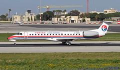 2-TGHI LMML 15-03-2019 China Eastern Airlines Embraer ERJ-145LI cn 14500949 (Burmarrad (Mark) Camenzuli Thank you for the 17.2) Tags: 2tghi lmml 15032019 china eastern airlines embraer erj145li cn 14500949