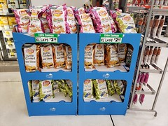 New Lay's Chips (tommyd.) Tags: folsom california winco food lays chips win flaminhot dillpickle remix kettlecooked classic beer cheese wavy electric lime seasalt fritolay goodfun new snack pink gold green