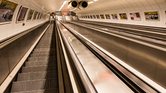 way down the hole (The eclectic Oneironaut) Tags: 2015 6d viajes budapest canon eos hungary hungria metro subway street architecture