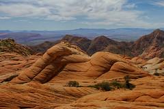 Yants Flats St George Utah (swissuki) Tags: hurricane utah yantsflats moutains sky redrocks desert rocks red nature