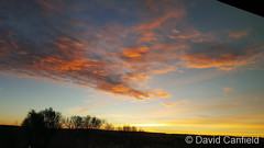 January 10, 2019 - Yes, another beauty of a sunrise. (David Canfield)