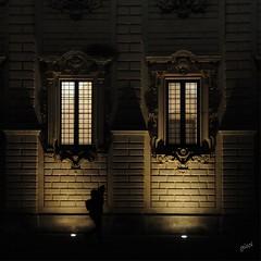 live in the light of your soul (gicol) Tags: light luce luz finestra ventana barocco baroque architettura lecce salento puglia ombra sombra shadow walking camminare andando persona italia italy apulia