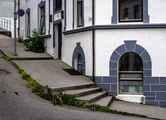 Steps (RWYoung Images) Tags: rwyoung olympus em1mk11 alesund norway deepnorth steps window urban