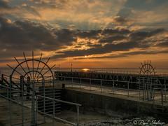 _1200036 (Paul_sk) Tags: winter sunset shoeburyness essex river thames beach mud boats clouds sun sky southendonsea