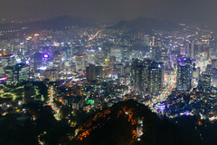 Seoul (stuckinseoul) Tags: photo asian 한국 seoul asia sigma2470mmf28exdghsm namsan city canoneos6d korea capital ntower 대한민국 nseoultower flickrseoul 서울 republicofkorea night korean canon6d seoultower southkorea kr