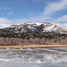 Frozen Fishing Pond - Idaho