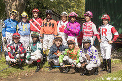 2018 Jocks (rumimume) Tags: rumimume 2019 niagara ontario canada photo canon 80d forterie racetrack horseracing summer outdoor day jockey people group sun