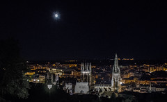 Burgos noche (helenabalbas) Tags: luna noche burgos mirador catedral iglesia nikon d5600 ciudad city orange luces otoño tree luz resplandor edificio naranja natura alto night light moon town cuidad outside españa old cathedral lights