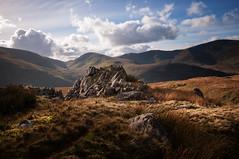 Light ahead (Einir Wyn Leigh) Tags: landscape outside walking mountains rural rugged love light rocky autumn november nikon clouds colour grass wilderness