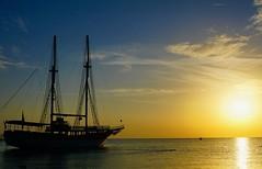 Quiet morning (prokhorov.victor) Tags: море утро природа солнце восход вода парусник судно
