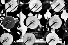 Spools (JCTopping) Tags: 6d 24mm spool museum pennsylvania mechanical canon blackandwhite thread scranton taylor unitedstates us