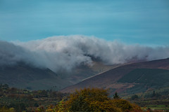 low clouds (viewsfromthe519) Tags: cork ireland sunny afternoon autumn blue sky fall mitchellstown clouds low rolling mountains