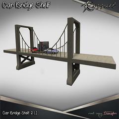 Rassuel-Car Bridge Shelf (Rassuel) Tags: hipster men event hme mesh shelf second life rassuel fashion decor decoration man key car bridge
