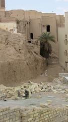 Yazd (**yukiko**) Tags: yazd old city adobe mud brick iran dates ruin