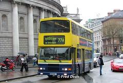 Dublin Bus RA296 (96D296). (Fred Dean Jnr) Tags: april2005 dublin dublinbus busathacliath dublinbusyellowbluelivery volvo olympian alexander r dublinbusroute77a ra296 96d296 collegegreendublin n584jno rend