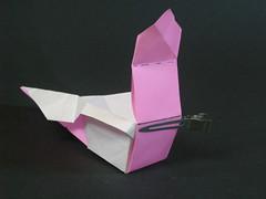 Cubic masu with handles Tuto step 10 (Mélisande*) Tags: mélisande origami box masu