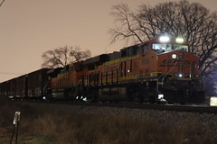 M337 at Riverside Drive (DonnieMarcos) Tags: trains train freighttrains freighttrain freight rail railfanning railroad railway chicago berwyn berwynil cn m337 canadiannational bnsf gevo evolutionseries
