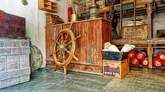 Roue - 6353 (ΨᗩSᗰIᘉᗴ HᗴᘉS +37 000 000 thx) Tags: old ancien roue pairidaiza boat bâteau belgium europa aaa namuroise look photo friends be wow yasminehens interest eu fr greatphotographers lanamuroise flickering hdr