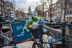 I want to ride my bicycle with you (julesnene) Tags: amsterdam northholland netherlands nl canal bicycle julesnene juliasumangil travelgirljulia unesco unescoworldheritagesite destination travel canon5dmarkiv canon35mm canonef35mmf14liiusmlens canalsofamsterdam