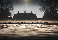 Misty Mansion (Rob Shenk) Tags: mountvernon snow virginia winter fxva mansion colonial georgewashington january landscape