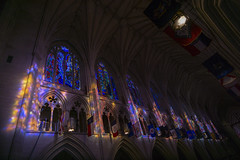DSC03209-1 (jtgfoto) Tags: approved washingtonnationalcathedral architecture cathedral architecturalphotography washingtondc washington nationalcathedral sonyimages sonyalpha stainedglass light color church interior