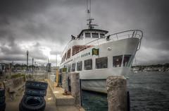 Island Queen (donnieking1811) Tags: massachusetts oakbluffs marthasvineyard islandqueen ferry dock people water outdoors sky clouds hdr canon 60d lightroom photomatixpro
