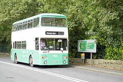 HUBY 070816 PUA294W (SIMON A W BEESTON) Tags: huby hcvs historicalcommercialvehiclesociety transpenninerun 6294 westyorkshire pte roe leyland atlantean an68c1r pua294w